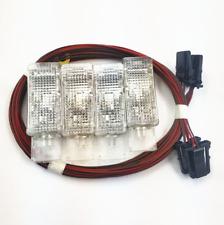 0EM 1 Set Interior Door Warning Light Glove Box Lamp & Harness For VW AUDI Seat