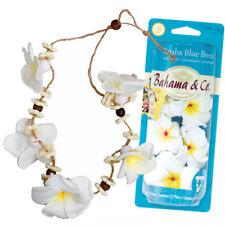Scented Flower Necklace Odor Eliminating Car Air Freshener - Aruba Blue Breeze