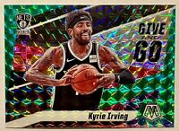 KYRIE IRVING 2019-20 Panini Mosaic Give and Go GREEN Prizm MINT HOT🔥MVP?
