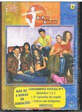 UN PASO ADELANTE 1 - 3 EPISODIOS - ANTENA 3 - màs de 4 horas - 2 DVD - NUOVO