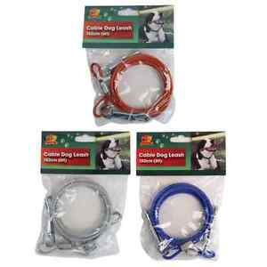Bulk prchase 20 x Dog Lead Leash Tie-Out Cable 6ft/1.8m BNIP ideal for camping