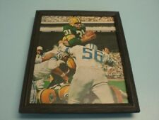 1966 PACKERS JIM TAYLOR vs LIONS FRAMED ACTION PRINT
