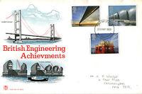 25 MAY 1983 ENGINEERING ACHIEVEMENTS STUART FIRST DAY COVER NORTHAMPTON FDI