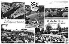 AK, St. Andreasberg, fünf Abb., um 1968