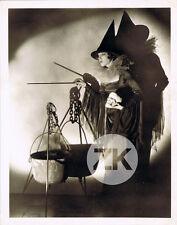 LEILA HYAMS Sorcière HALLOWEEN Crâne MORT Vanité WITCH Black Magic  Photo 1930s