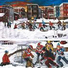"""43W""""x25H"""" UNE BIEN BELLE SOIREE AU PARC by NICOLE LAPORTE - NHL CANADIENS CANVAS"""