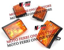 MF0065 - KIT FRECCE ANTERIORI + POSTERIORI VESPA 50 125 PK S ARANCIONI