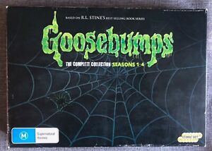 Goosebumps - The Complete DVD Collection Seasons 1-4 - Region 4 Box Set