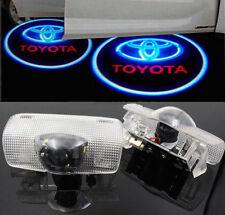 2pcs Car Welcome Light Shadow Lighting For Toyota prius corolla prado highlander