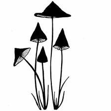 Lavinia Stamps - Slender Mushrooms Miniature (LAV151)