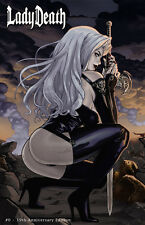 LADY DEATH, #0 19TH ANNIVERSARY EDITION,  POSTER PRINT