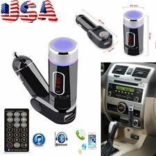Bluetooth Wireless Fm Transmitter Mp3 Player Handsfree Car Kit Usb Tf Card Bt