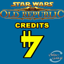 10.000.000 Star Wars the old Republic - SWTOR Credits 10M 10000K Alle EU Server
