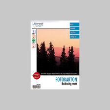 """Fotopapier: 30 Bl. Foto-Karton """"Satinum Brillant"""" beidseitig A4 (Druckerpapier)"""