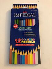 Imperial Wood Free Colored Pencils Set - Pack of 12