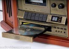Home Stereo, AM FM CD Cassette LP,  Record Convert to PC Mac, Wood Style Compact