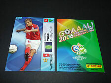 J. VOGEL SUISSE SCHWEIZ PANINI CARD FOOTBALL GERMANY 2006 WM FIFA WORLD CUP