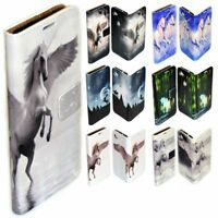 For OPPO Series Case - Unicorn Fairy Tale Print Wallet Mobile Phone Case Cover