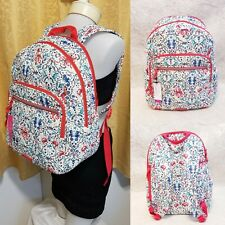 Vera Bradley Sea Life Iconic Campus Backpack Seahorse Bag Laptop School NWT NEW