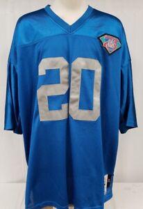 Brand New M&N Men's NFL Detroit Lions Barry Sanders 1994 Authentic Jersey