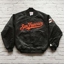 Vintage 90s San Francisco Giants Satin Jacket by Starter Size M