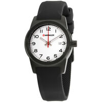 Wenger Field Color Quartz Movement White Dial Ladies Watch 01.0411.135CB