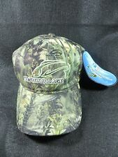 FISHOUFLAGE BASS FISHING CAP CAMO HAT ADJUSTABLE SIZE NEW BOX06