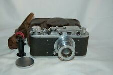 FED 1 (type B) NKVD Vintage 1938 Soviet Rangefinder Camera, Case. 64560. UK Sale