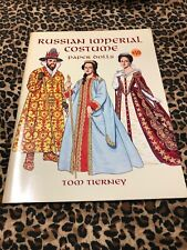 Russian Imperial Costume Paper Dolls Tom Tierney 1997