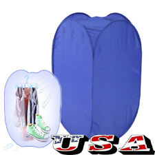 Portable Electric Air Clothing Dryer 800W Heater Drying Machine Lightweight US