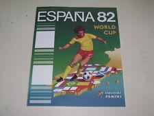 PANINI WORLD CUP ESPAÑA 82 - 1982 ALBUM OFFICIAL REPRINT - 100% complete