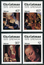 Grenada 900-903,904 S/S, MNH. Christmas. Albrecht Dürer paintings, 1978