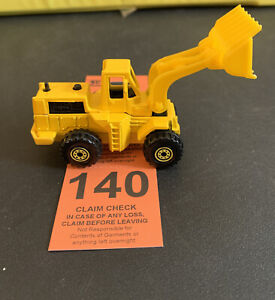 Vintage 1979 Hot Wheels CAT Front Loader Construction Truck Malaysia