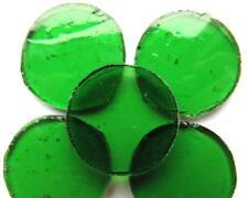 petit cercles - Vitrail - acide Vert