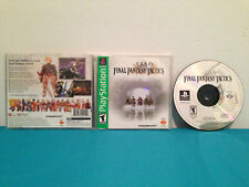 Final Fantasy Tactics (Sony PlayStation 1 case-disc & manual GREATEST HITS