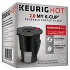 Keurig Hot 2.0 My K Cup Reusable Coffee Filter Small Black Updated Model 119367
