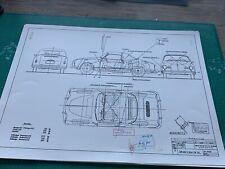 Limitierter ARTprint Karmann Ghia Cabrio 1959