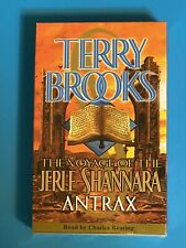TERRY BROOKS Voyage of the Jerle Shannara ANTRAX Audiobook Cassette ~ NEW/SEALED