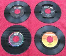 Lot of (4) 45 rpm records: Three Dog Night / Tavares / Tina Turner / Toto
