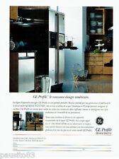 PUBLICITE ADVERTISING 026  1996  GE Profile General electric  cuisine américaine