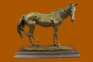 Extra Large Lean Racing Horse by Mene OTB Trophy Collectible Bronze Statue Decor