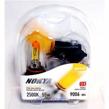 Nokya 9006 Hyper Yellow S1 Low Beam Headlight Halogen Light Bulb 1 Pair NOK7610