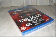 EVIL DEAD TRILOGY - BRUCE CAMPBELL blu-ray UK RELEASE NEW FACTORY SEALED