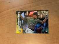 2020 Topps Series 2 - Seth Mejias-Brean #370 Gold Foil Parallel Rookie RC PADRES