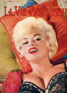 La Vie Parisienne Magazine Jayne Mansfield Cover  1964  Bardot Loren Baker more