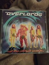 All the Naked People by The Overlords (CD,1994, Zoo Entertainment) Brand New