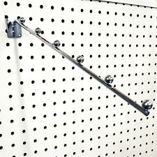 Pegboard 6 Ball Waterfall Faceout Clothes Hanger Clothing Display - 10 Pieces