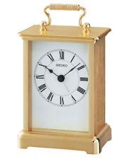 qhe093g-new SEIKO Horloge Mantel avec alarme
