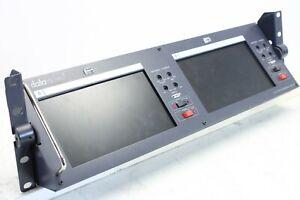 Datavideo 2x7 Inch LCD Monitor TLM-702 (no.1)