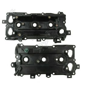 Pair Set of Front & Rear Valve Covers For Infiniti QX60 Nissan Maxima V6 3.5L